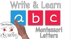 But if we really want to communicate, which means speak, understand, read and write english, we have to deal with both of them. Montessori Letters Learn Write English Alphabet Montessori At Home Youtube