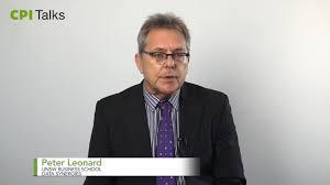 CPI Talks - Peter Leonard on Vimeo