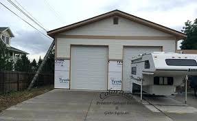 tall garage doors ft