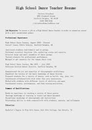 dance resume format best business template dance resume examplesdancer resume sample dance instructor resume in dance resume format 5866