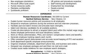 Recruiter Resume Free Human Resources Resume Example Resume