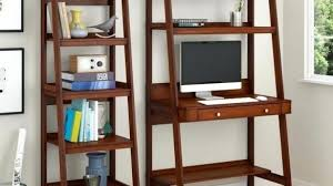 office furniture shelves. Excellent Leaning Computer Desk 10 Best Shelf With Bookcase Office Furniture Home Shelves H