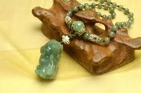 elegant green jade tiger amulet jade