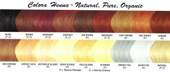 Wheat Hair Color Chart Colora Henna Powder Colora Henna Powder Colora Powder