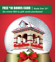 grotto pizza holiday promotion
