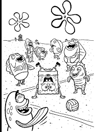 Small Picture free coloring pages spongebob friends free printable spongebob
