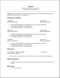 Download Resume Resume For Download Under Fontanacountryinn Com