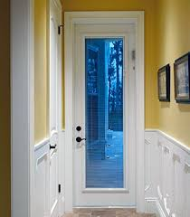 wood door blinds. Wood Exterior Doors With Blinds Between The Glass Door