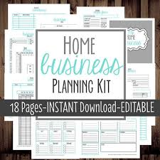 home business planner printable home business etsy business planner work at home organization bussiness planner