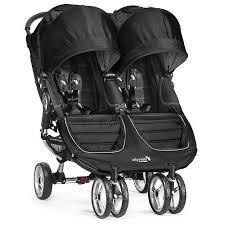 Baby Jogger BJ City Mini Double Black/Grey | NordBaby™