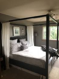 Farmhouse Canopy bed- Pottery Barn style *King for Sale in Kent, WA ...
