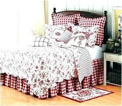 toile bedding sets comforter set bedding sets red black and white comforter set blue toile duvet