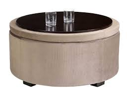 home decorations round ottoman coffee table round ottoman coffee table ideas with beautiful tray diy