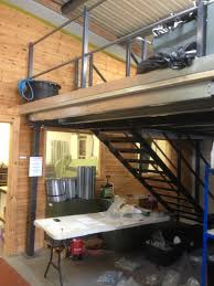 office mezzanine floor. We Recently Installed A Small Mezzanine Floor Office S