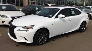 2015 Lexus IS 250 AWD F Sport Series 3 Review - Ultra White on ...