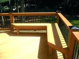 how to build a deck bench seat with storage building deck benches decking bench seating how
