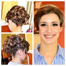prom makeup and hair