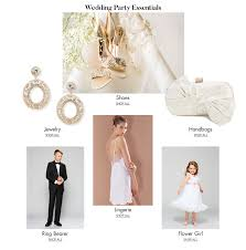 wedding party essentials on dillards