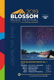 Blossom Music Center 3d Seating Chart 2019 Blossom Music Festival Book No 1 By Live Publishing