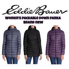 Eddie Bauer Light Down Jacket Eddie Bauer Womens Cirruslite 650 Down Parka Jacket Packable Lightweight Coat Ebay