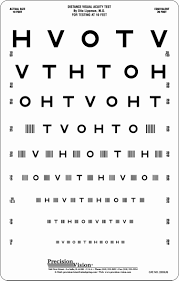 60 Problem Solving Full Size Dmv Eye Chart