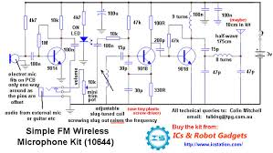 fm wireless microphone by bc557 wiring diagram host