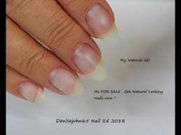 fake nails that look real natural gel again now watch