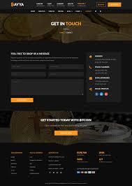 Bayya Bitcoin Crypto Currency Template