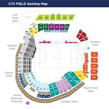 Detailed Citi Field Seating Chart Citi Field To Host New York City Fcs 2019 Audi Mls Cup