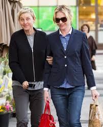 Ellen And Portia Ellen Degeneres And Portia De Rossi Out In La December 2015