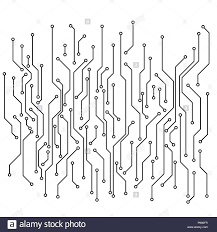Circuit Black And White Stock Photos Images Alamy