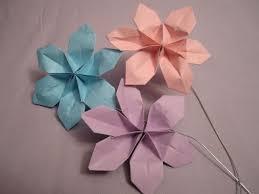 Easy Paper Origami Flower Flower Paper Folding Instructions Magdalene Project Org