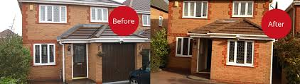 ... Before and after garage conversion pictures