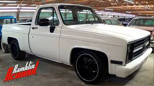 1986 Chevrolet C10 Shortbed Lowered Pickup - YouTube