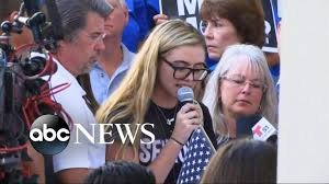 florida massacre survivors demand gun survivors of the parkland school shooting speak out youtube