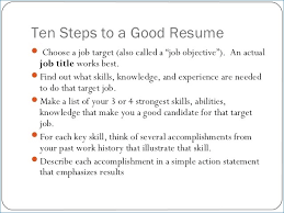 Does A Resume Need An Objective Does A Resume Need An Objective artemushka 99