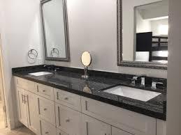 black granite countertop for bathroom