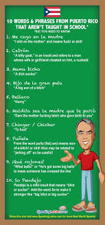 best funny spanish phrases ideas funny french infographic 10 vulgar spanish slang words and phrases from puerto rico