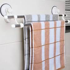 double pole towel rack stainless steel bath towel rack