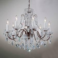 regina olive bronze 19 wide crystal chandelier u2231 lamps plus