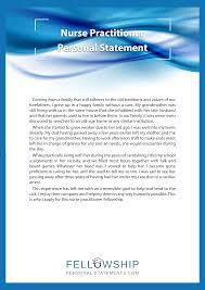 nurse personal statement nurse practitioner fellowship personal statement