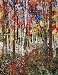 Impressionistic Art Quilts | Product Categories | Quilts By Ann & Autumn Impressionistic Art Quilt – Vertical Adamdwight.com