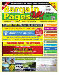 Clif Designs Cd400a Bargain Pages Wales 19th March 2014 By Loot Issuu