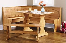 dining nook furniture. amazoncom dining nook solid pine breakfast set in natural finish with traditional styling great for eatin kitchens room table three furniture