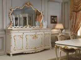 Dining Room Furniture Sideboard Venice Dining Table In Louis Xv Style Vimercati Classic Furniture