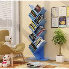 134cm 9 layers Creative tree style Bookcases Portable shelves Bedroom  bookshelf