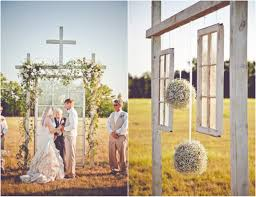Small Picture Ceremony Decorations For Outdoor Weddings Choice Image Wedding