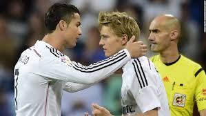 Is a professional association football club based in madrid, spain, that plays in la liga. Martin Odegaard 16 Becomes Real Madrid S Youngest Player Cnn