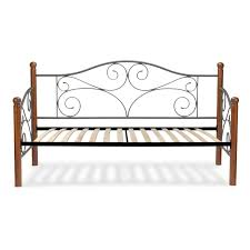furniture stores in doral. Contemporary Stores Doral Complete Metal Daybed With Scrolled Spindle Panels And Euro Top Deck  Matte Black Finish Throughout Furniture Stores In A