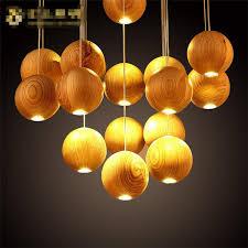 handmade lighting design. Handmade Hanging Lights Native Wood Wooden Chandelier LED Pendant Lamp Lighting Design